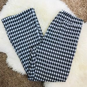 Urban Outfitters Gingham Wide Leg Pants